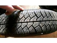 Caravan spare wheel 165/13