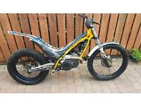 Sherco trials bike