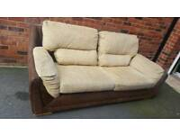 3 seater, 2 seater sofa bed + storage foot stool