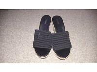 Next black sandal size 5
