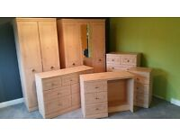 ALSTONS 7 PIECE BEDROOM SUITE