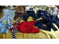 Baby boy 0-3 clothes. Next, name it, tu, m&s etc