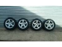 15inch Peugeot alloys
