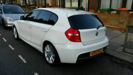 Bmw 118d m sport 2010 alpine white