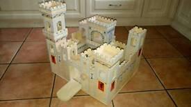 Children's folding medieval castle