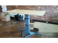 Herman Miller - Wood Laminate Seating/Standing Desk