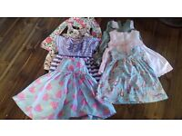 Girls 3-6 months summer clothes bundle - 33 items