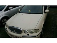 2001 ROVER 45 CLASSIC 16V WHITE *SPARES AND REPAIRS*