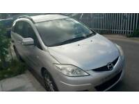 2008 plate Mazda 5 TS2 d seven seater