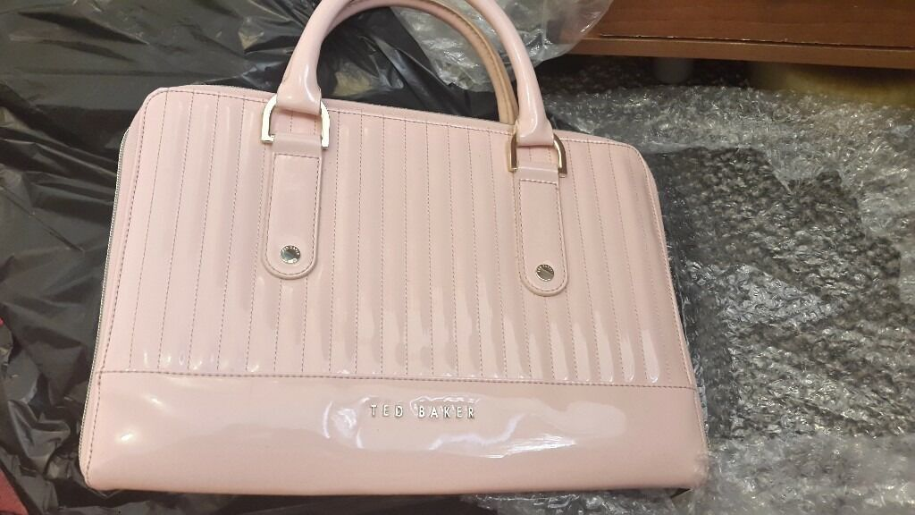 Ted Baker Baby Pink Laptop Case