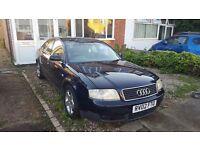 LOW MILEAGE!!! Audi A6 dark blue 2.5 TDI