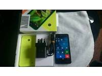 Nokia Lumia 630 UNLOCKED With Original Box and charger PLUS FREE back Case