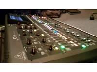 Behringer X32 Digital mixer with flight case