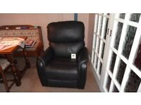 Montreal dual motor riser recliner lift armchair faux leather