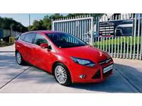 2014 FORD FOCUS 1.6 TDCI ZETEC...FSH...FINANCE THIS CAR FROM £40 PER WEEK...MINT CONDITION...