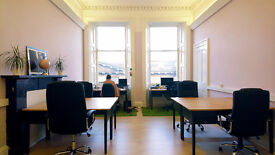 Desk Space in Light & Open Plan Studio at the Shore, Leith