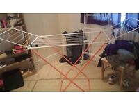 Clothes dryer stand