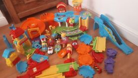 Toot Toot drivers bundle playsets