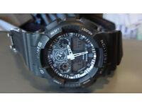 G-Shors Resist G-Shock Style Black Men's Watch Analogue Digital Alarm