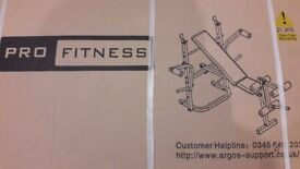 PRO FITNESS WEIGHTS BENCH WITH LEG & BUTTERFLY * * * BRAND NEW & BOXED * * *