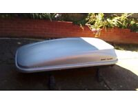 Toyota verso roof bars and box