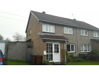 Attractive, 3 bedroom, fully furnished, semi detached house with garage and gardens, quiet location