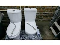 Toilet ,Sink, Toilet