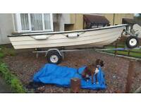 Shetland GH 14 & trailer