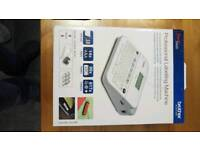 Brother PT400D Label Printer with 5 new cartridges