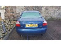 Audi A4 quattro for sale. Part service history and in good condition.