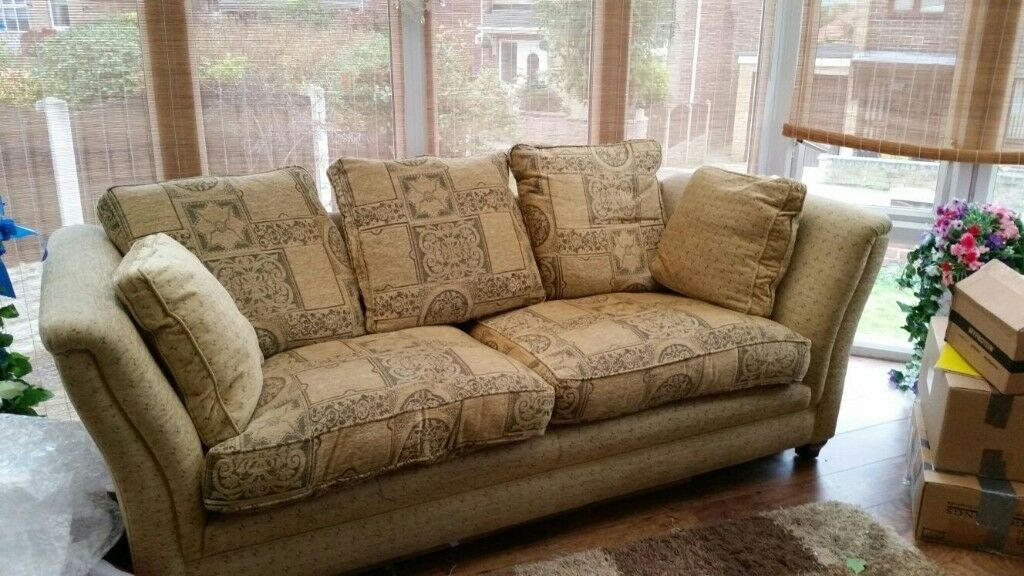 Very Comfortable Sofa And Armchair