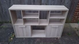 ***BARGAIN*** Modern side unit and coffe table matching pair 1 year old