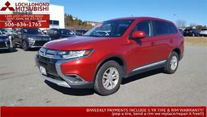 2016 Mitsubishi Outlander ES 4WD FOR ONLY $203 BW!!