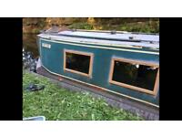 NARROWBOAT 28FT COMES WITH MOORING