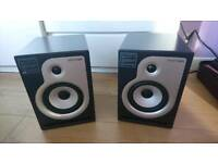 Pair of Stanton ATM6 Monitor Speakers - KRM ROKIT 6 clones