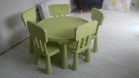 Mammut Table & Chairs