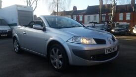 **FULL HISTORY**2008 RENAULT MEGANE 1.6 VVT DYNAMIQUE 2 DOOR CONVERTIBLE**LOW MILEAGE+12 MONTHS MOT*