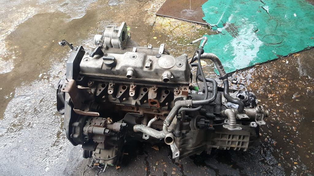 Engine for Ford connect, 2009, no injectors. just block and head and fuel pump.
