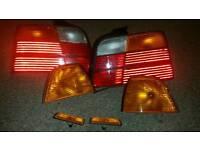 BMW e36 saloon lights