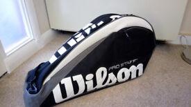 Tennis Bag - Wilson Pro Staff 6 Racket Tennis Bag