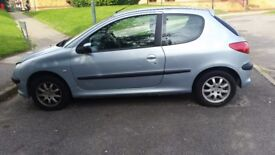 Peugeot 206 for spare parts