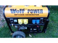 Wolf 6.5KVA petrol generator