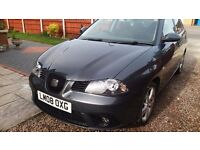SEAT IBIZA 1.4 16V SPORT 5 DR 2008 FULL SERVICE HISTORY VERY GOOD CONDITION