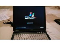 Cheap working laptop Packard Bell Windows XP