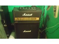 Marshall AVT150 head + cab and footswitch