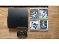 Sony PS3 slim 250gb + extras
