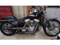 2004 Harley Softail fuel injected,MOT 7/17, 36k miles. PX for low miles mid size sport tourer
