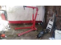 5 Ton Professional Folding Engine Crane / Hoist / Lift