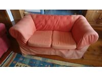 2 seater sofa (4ft 10 x 2 ft 10)