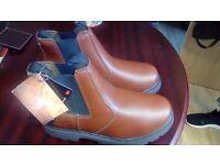 Mens steel toe boots prospecta